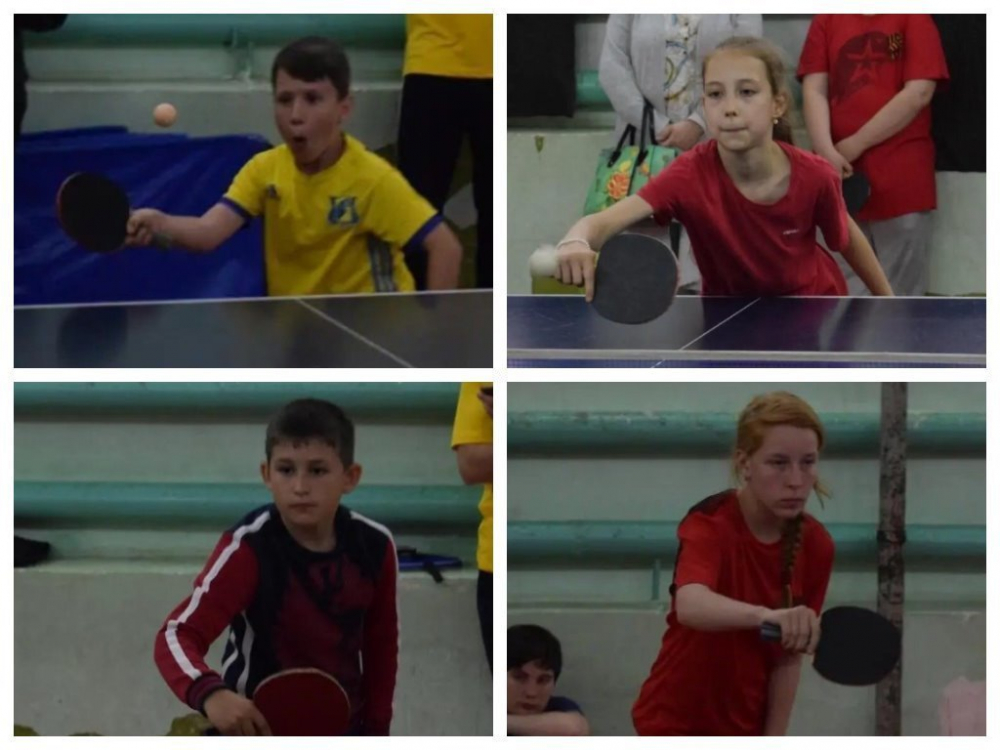 Спортсмены из Морозовска заняли призовые места в областном турнире по настольному теннису