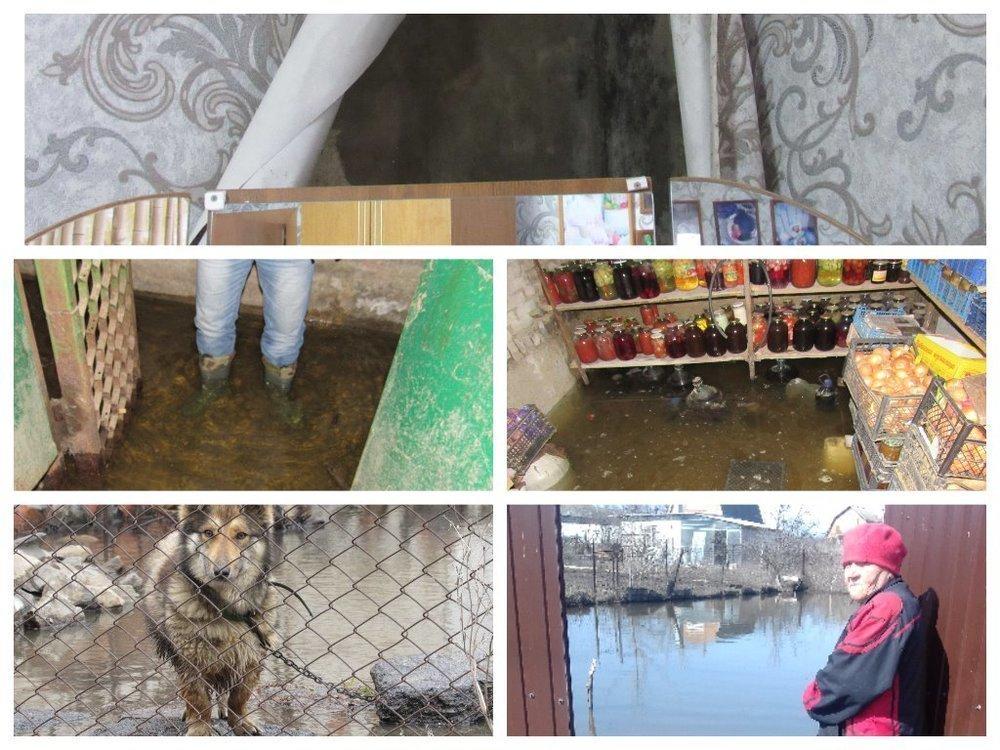 Половину Морозовска затопило: вода стоит в подвалах и во дворах