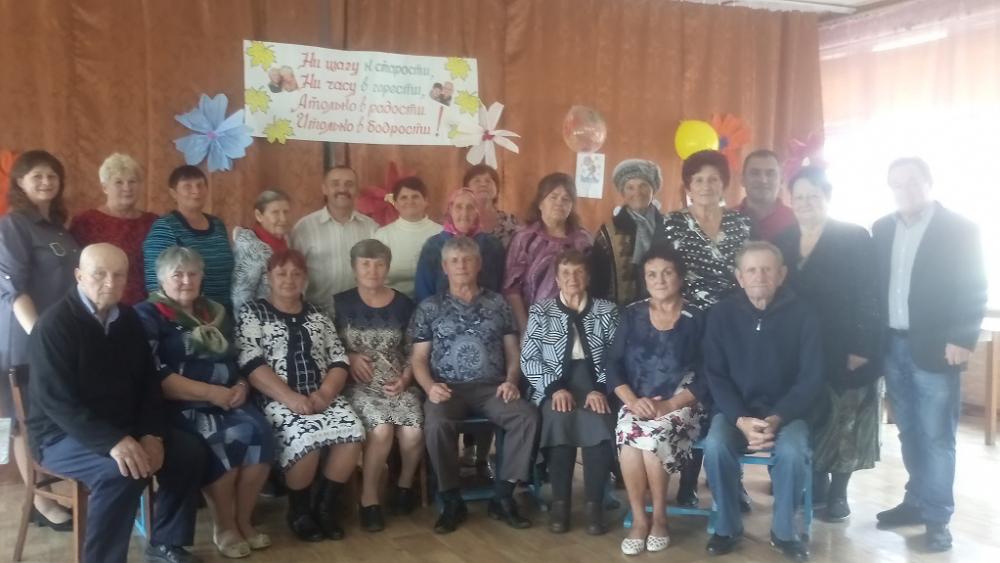 Три хутора Гагаринского сельского поселения отметили День пожилого вместе
