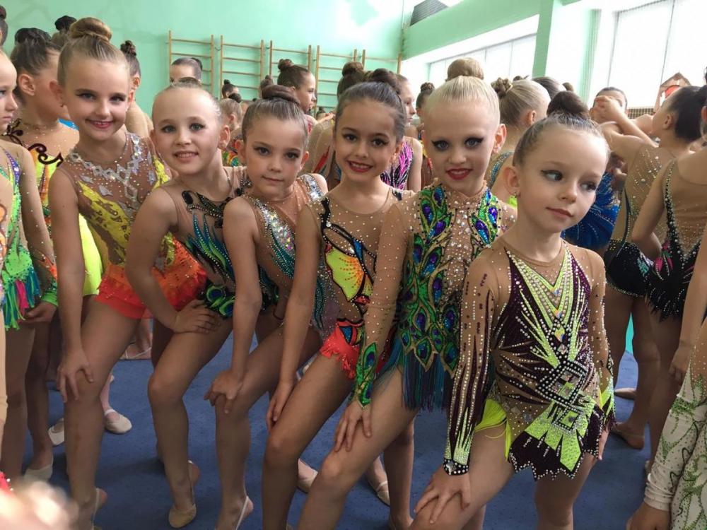 Традиционный турнир «Краски осени» в Морозовске собрал гимнасток из городов Ростовской области