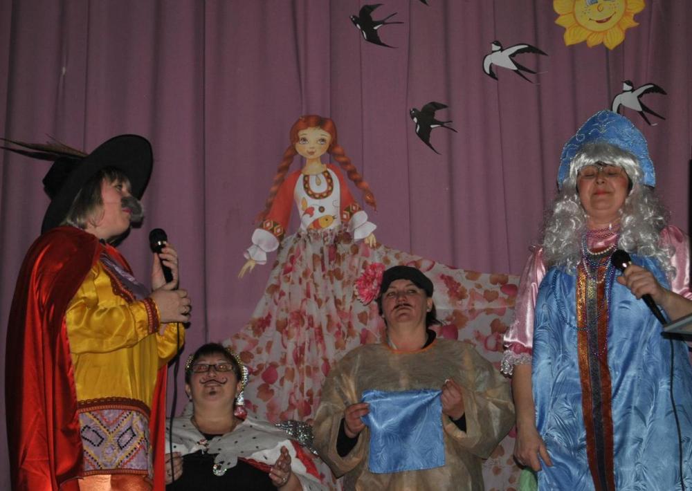 Сердце принцессы Несмеяны растаяло на празднике в Вишневке