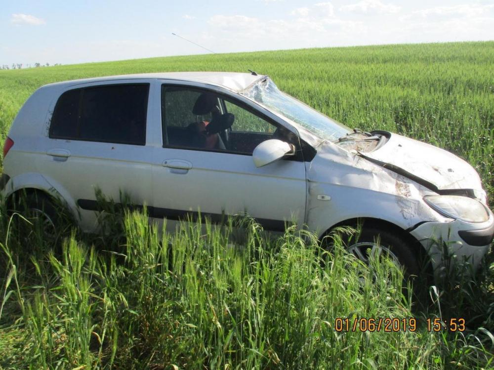 13-летняя девочка получила травмы в ДТП на трассе Кашары-Первомайское-Милютинская-Морозовск
