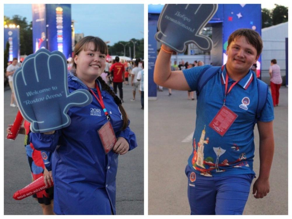 «Дай пять!», - волонтеры из Морозовска поделились впечатлениями о чемпионате мира