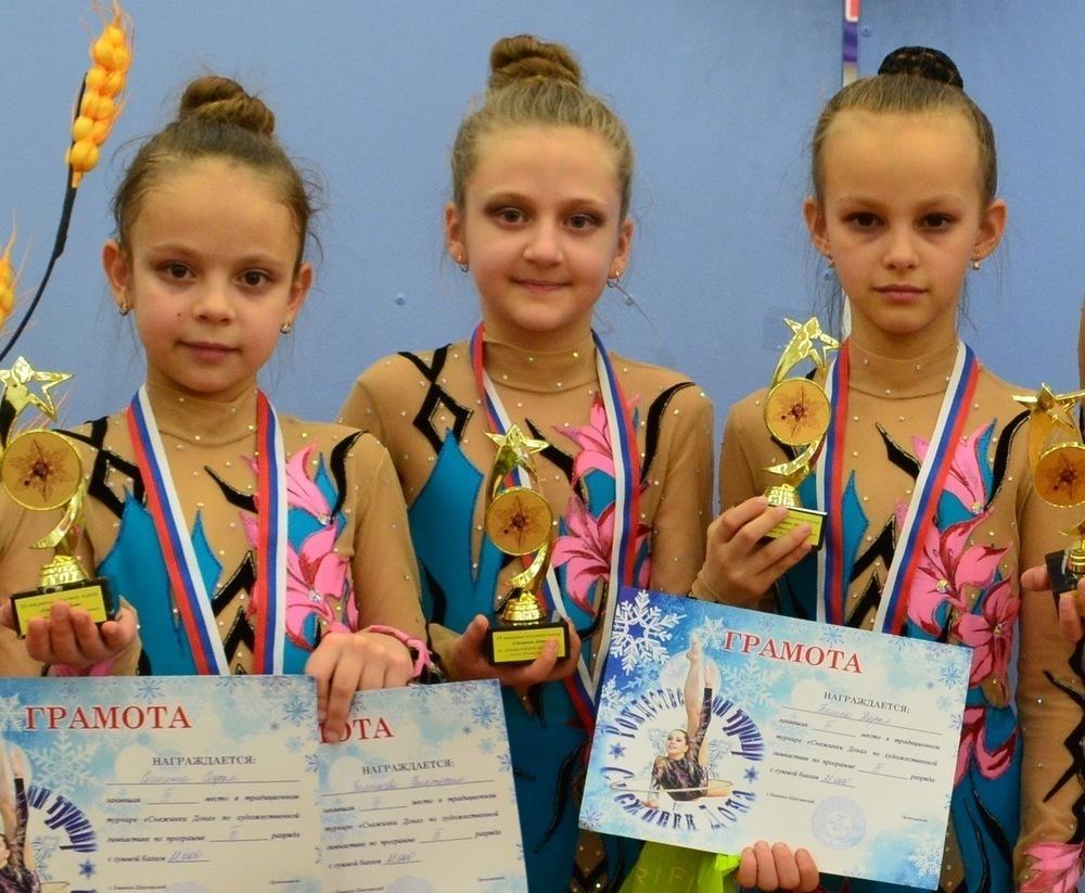 Юные гимнастки из Морозовска привезли домой «серебро» и «бронзу»