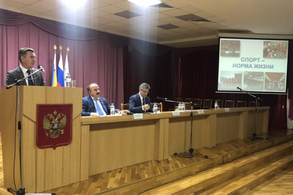 Больше миллиарда рублей выделят на строительство 53 спортивных объектов на территории Ростовской области