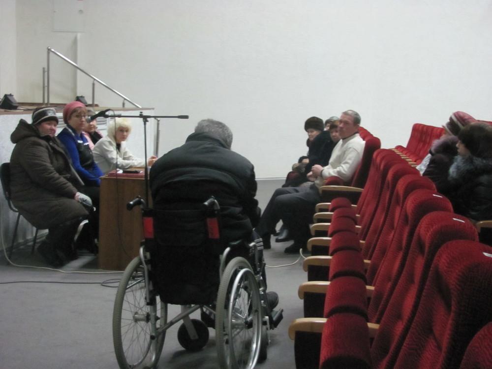 В Морозовске избрано правление общества инвалидов