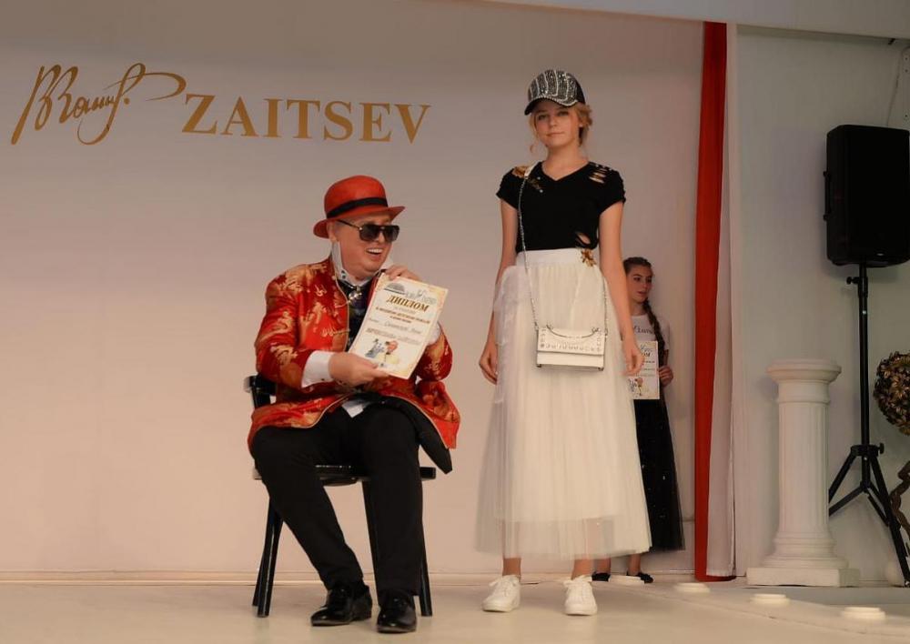 Воспитанники студии «Новые имена» побывали на закрытом показе у Вячеслава Зайцева