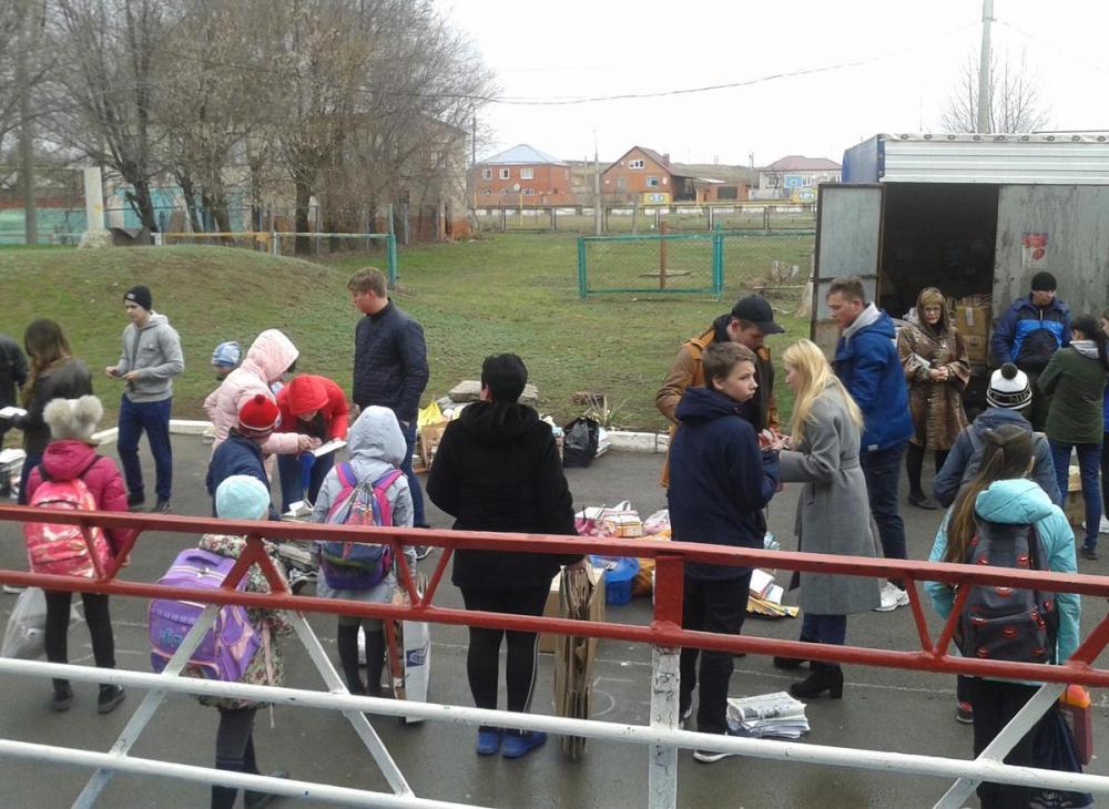 Более 2,5 тонн макулатуры собрали ученики школы №4 в Морозовске