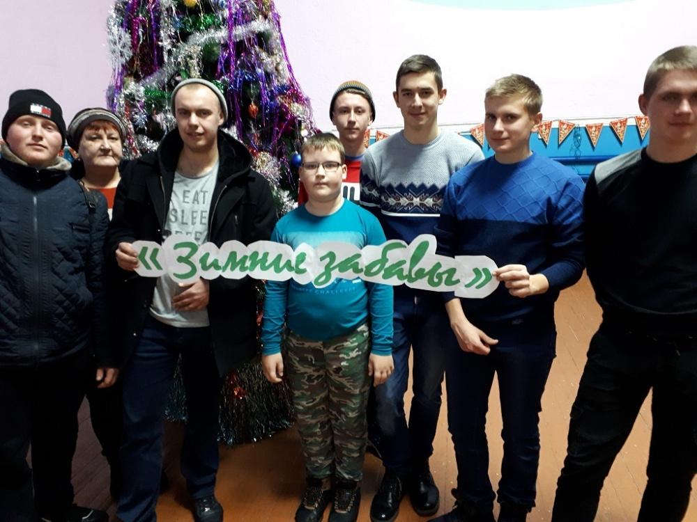 Разогнали скуку: «Зимние забавы» устроили для детей в сельском доме культуры в станице Вольно-Донской