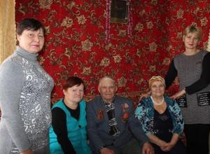 Детей войны и ветеранов Великой Отечественной войны поздравили с юбилеем в хуторе Парамонове