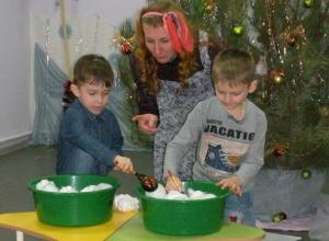 «Коляда» с играми и конкурсами пришла в филиал детского сада №1 в Морозовске