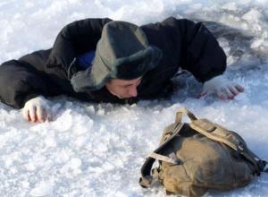 Морозовчане, осторожнее: в Ростовской области начали тонуть рыбаки