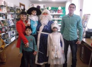 Сказочные и волшебные новогодние мероприятия прошли в хуторе Старопетровском Морозовского района