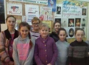 Детям в хуторе Широко-Атамановском предложили сходить на выборы вместе с родителями