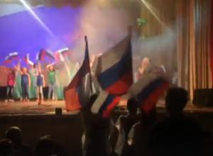 Появились видео празднования Дня народного единства в Доме культуры Морозовска