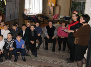 Утренник по пожарной безопасности провели для детей в Вознесенском Доме культуры