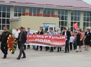 Большим концертом и возложением цветов отметили праздник Победы в хуторе Вербочки