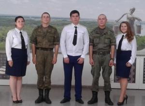 Выступления с Урока мужества в Доме офицеров Морозовска попали на видео
