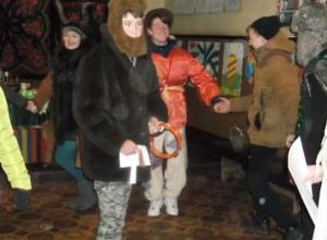 Веселыми играми, музыкой и гаданями встретили Старый новый год в хуторе Старопетровском