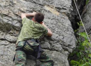 Фотографии скалолазов из кадетского корпуса Морозовска появились в Сети