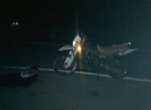 Мотоциклист пострадал в ДТП на автодороге «Морозовск-Цимлянск-Волгодонск»