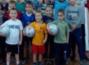 «Каменке» из Морозовска оказал поддержку председатель федерации футбола Ростовской области