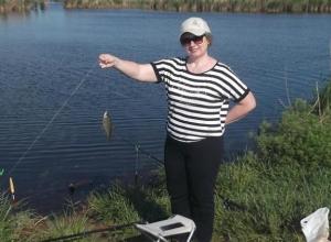Морозовчанка участвовала в соревновании по спортивному рыболовству и получила медаль