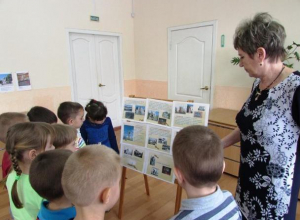 Тематическую беседу «Битва за Сталинград» провели с воспитанниками детского сада №3 в Морозовске