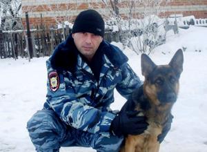 Собака Берта два года отслужила в уголовном розыске Морозовска