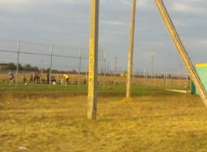 Началась реконструкция старого футбольного поля «Каменки» в Морозовске