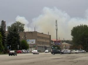 Морозовск снова в дыму: новый пожар начался возле хутора Широко-Атамановского