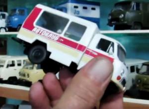 Модель автомобиля, принадлежавшего Дому культуры Морозовска, нашлась в коллекции Николая Скоробогаткина