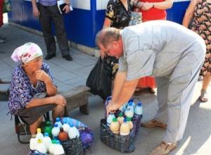 Морозовчан попросили не покупать продукты «с рук»