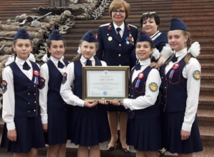 Школа №6 Морозовска стала лауреатом всероссийского смотра-конкурса «Лучший казачий кадетский корпус»
