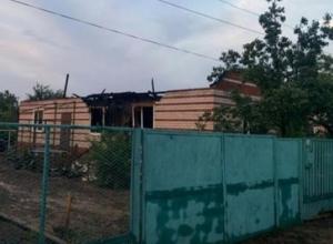 Это была шаровая молния, - хозяйка сгоревшего в Морозовске дома