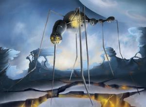 Антиутопическую работу художница-иллюстратор из Морозовска нарисовала под влиянием творчества Оруэла