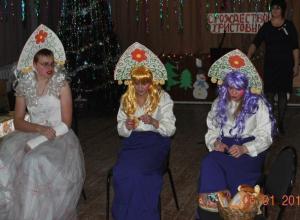 «Рождественские посиделки» прошли в хуторе Вишневка