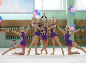 Юные морозовчанки в очередной раз блеснули на турнире по художественной гимнастике в Миллерово
