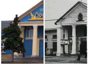 Прежде и теперь: на месте клуба имени Мирошниченко сейчас располагается КРЦ «Одиссея»