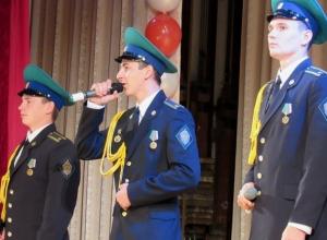 Зрелищную патриотическую акцию провели в Морозовске пограничные институты ФСБ