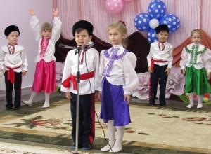 Первый День рождения филиала садика №1 в Морозовске попал на фото и видео