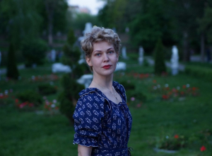 Морозовчанка организовала арт-проект «9 мая 1945 года в Ростове-на-Дону»