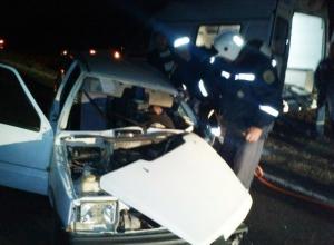 Водитель «Оки» пострадал в столкновении с «Газелью» на трассе Морозовск - Цимлянск