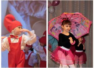 Дебют самых юных танцоров Морозовска состоялся на празднике ко Дню матери