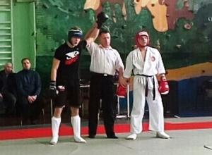 10 из 11-ти бойцов кадетского корпуса Морозовска получили призовые места по каратэ в Белой Калитве