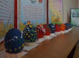 Как в старину люди готовились к празднику Пасхи узнали ребята в детском саду «Сказка»