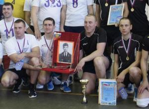 Волейбольный турнир в Морозовске посвятили памяти Героя России