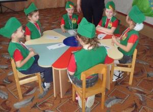 Занимательную игру по правилам дорожного движения «Что? Где? Когда?» провели в детском саду «Колобок»