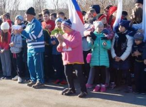 Жительница Таганрога свой 78-й день рождения отметила легкоатлетическим пробегом в Морозовске