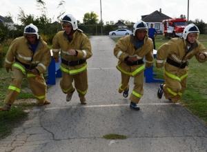 Команда пожарных из хутора Беляев заняла четвертое место среди десяти команд